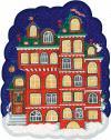 Пряничный домик с окошками. Детский календарь на 2022 год